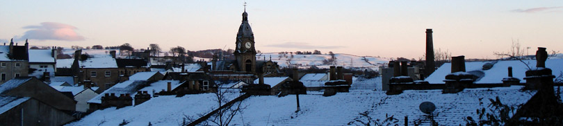View of Rooftops in Kendal